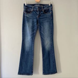American Eagle Kick Boot Stretch Size 4 Short